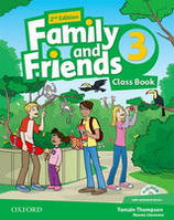 Family and Friends 3 Class Book Pack /2nd edition/