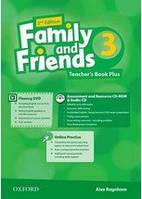 Family and Friends 3 Teacher's Book Plus Pack /2nd edition/