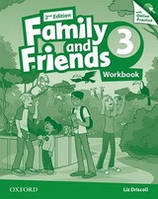 Family and Friends 3 Workbook and Online Practice Pack /2nd edition/