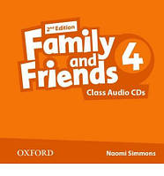 Family and Friends 4 Class Audio CD (2) /2nd edition/