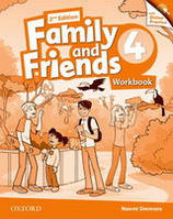 Family and Friends 4 Workbook /2nd edition/