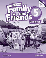 Family and Friends 5 Workbook and Online Practice Pack /2nd edition/