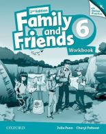 Family and Friends 6 Workbook and Online Practice Pack /2nd edition/