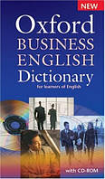 Oxford Business English Dictionary for learners of English (CD-ROM pack)