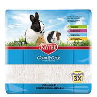 Подстилка целлюлозная для грызунов Kaytee Clean&Cozy White (белая), 4.1л