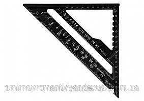 Угольник плотницкий алюминиевый YATO 180 мм