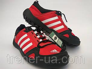 Кросівки літні ClimaCool в стилі Adidas Doroga червоний-чорний