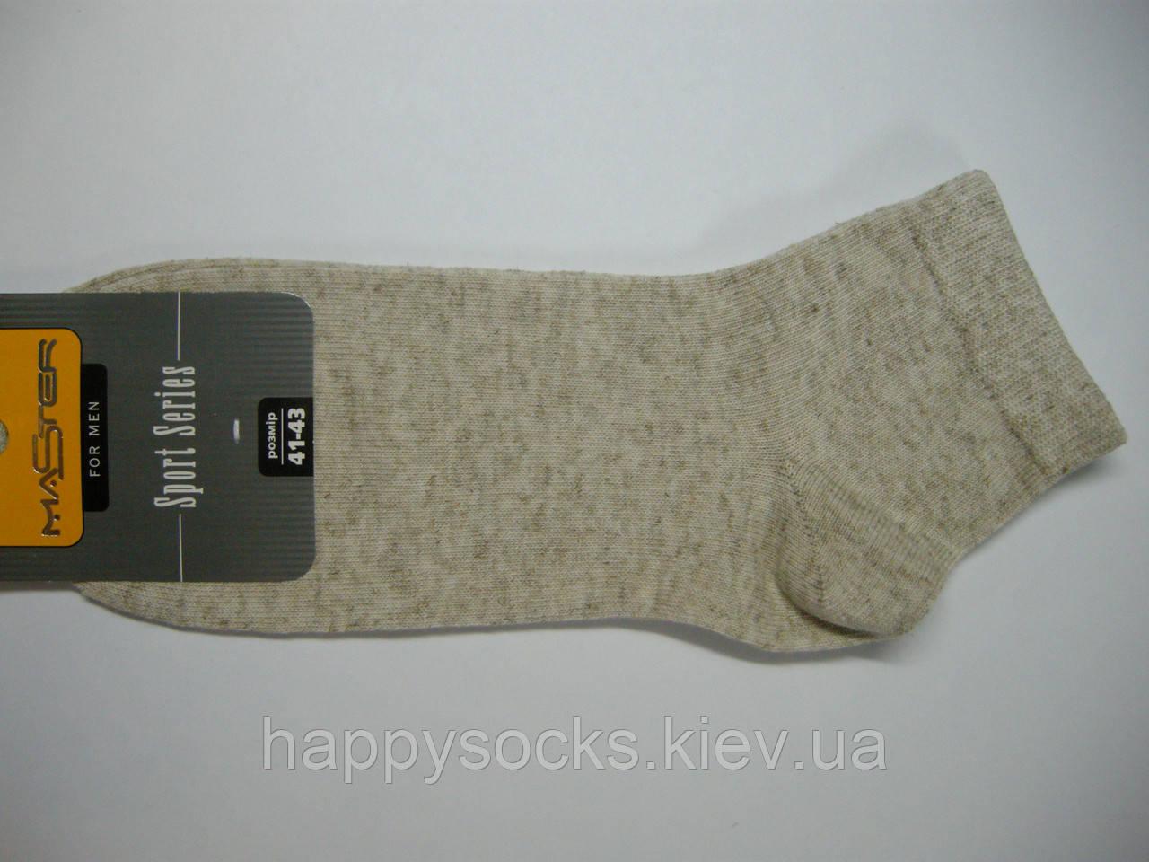 Тонкие хлопково-льняные носки