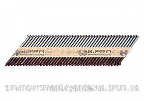 Гвозди для пневматического гвоздезабивного пистолета VOREL 50 х 2.8 мм угол- 34° 3000 шт