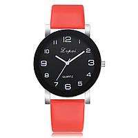 Яркие женские наручные часы Lvpai с красным ремешком   80613-2, фото 1