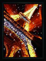 """Набор для картины """" Эйфелевая башня"""" своими руками из кристаллов и страз Сваровски"""