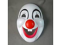 Маска пластиковая Клоун в ассортименте
