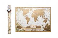 Скретч карта мира MyAntiqueMap, фото 1