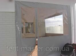 Мягкие окна ПВХ для веранды.