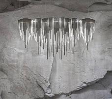 Светодиодная люстра из серебряных цепочек (50W), фото 2
