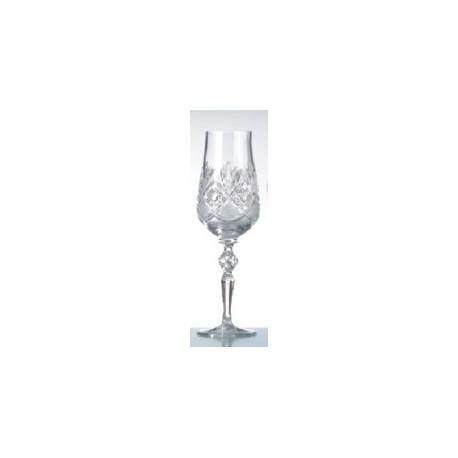 Фужери кришталеві для шампанського Німан 7841 900/851 ромб 190мл 6шт