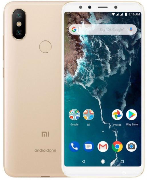 Смартфон Xiaomi Mi A2 4/64 Global Version  (Gold)