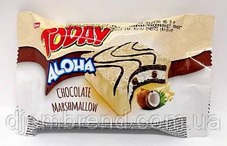 Бисквит Today Aloha, шоколад-маршмеллоу, 50 г