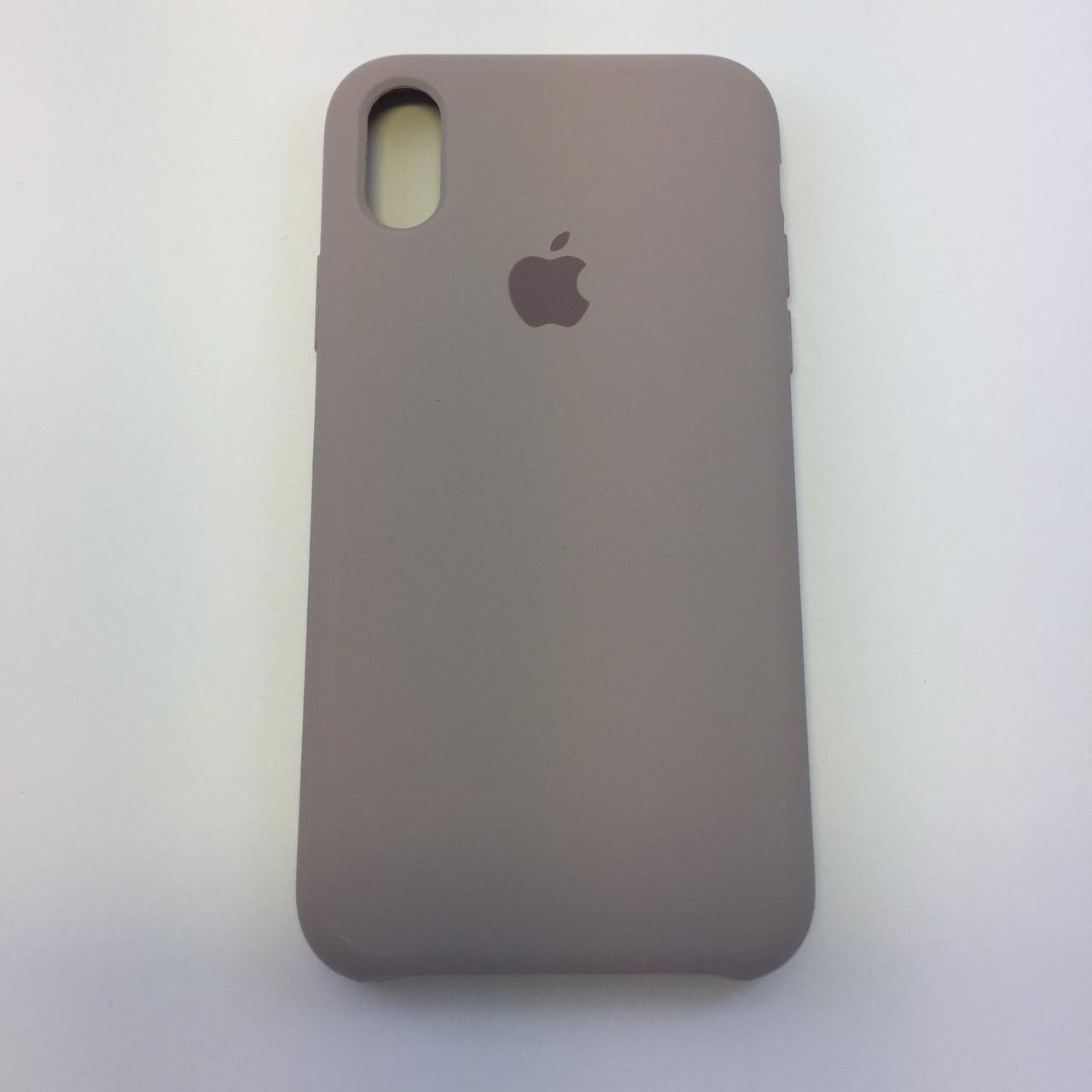 Силиконовый чехол для iPhone Xr, - «лаванда» - copy original