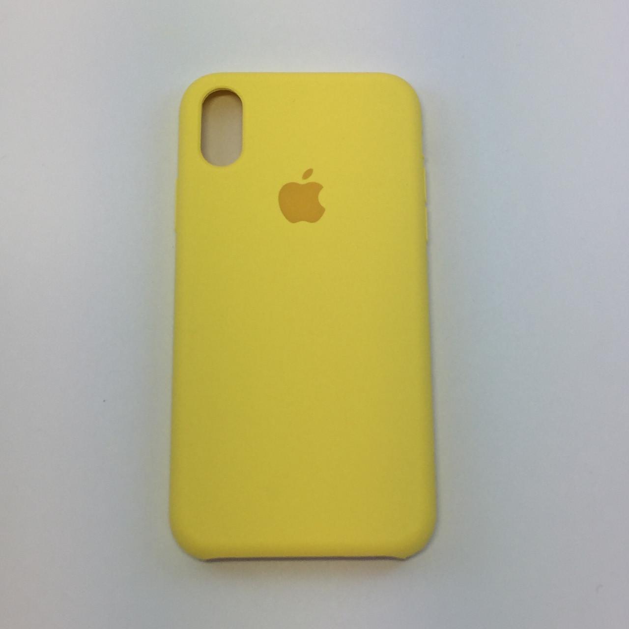 Силиконовый чехол для iPhone Xs Max, - «холодный лимонад» - copy original