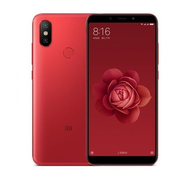 Смартфон Xiaomi Mi A2 4/64 Global Version  (Red)