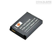 Аккумулятор для фотоаппарата Samsung SLB-10A, 1300 mAh.