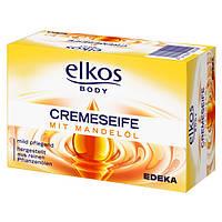 Крем-мыло Elkos с миндальным маслом и протеинам молока 150 гр