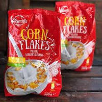 Кукурузные хлопья Vitanella Corn Flakes, 500гр (Польша)