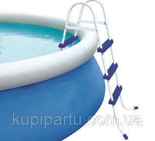 58394/58044 BW Лестница для бассейнов до 107см, 3 ступеньки, без площадки