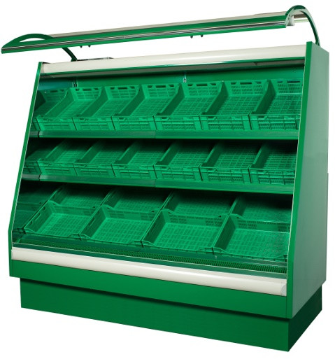 Стеллаж холодильный овощной COLD VEGA R-13 F a