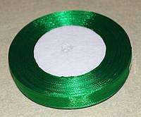 Стрічка органза 948 зелена 1,2 см, фото 1