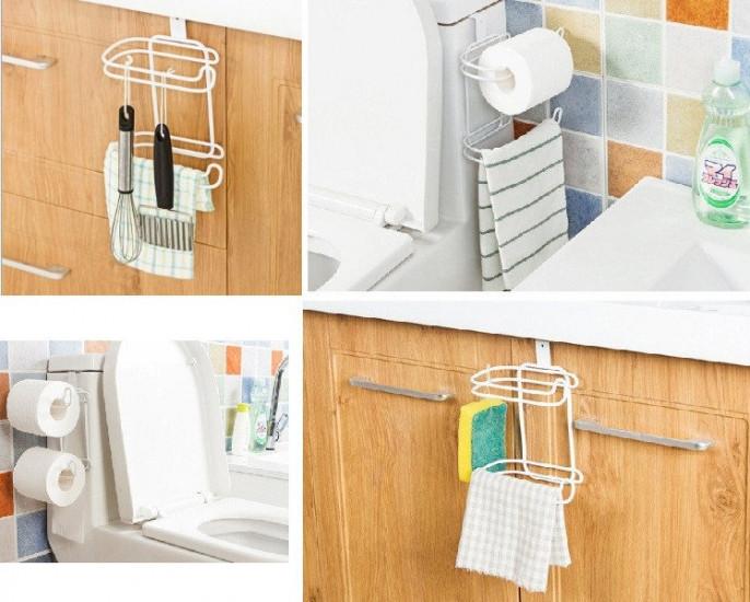 Металлический держатель для кухонных принадлежностей