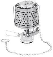 Лампа с пьезоподжигом и металлическим плафоном, в футляре Tramp