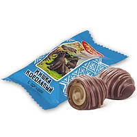 Шоколадные конфеты «Мишка косолапый» с ореховой начинкой, «Красный Октябрь»