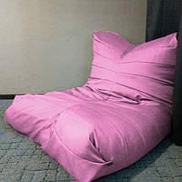 Кресло мешок Relax св. розовый