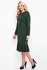 Зелену сукню з люрексом для повних Ромі, фото 3