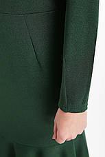 Зелену сукню з люрексом для повних Ромі, фото 2