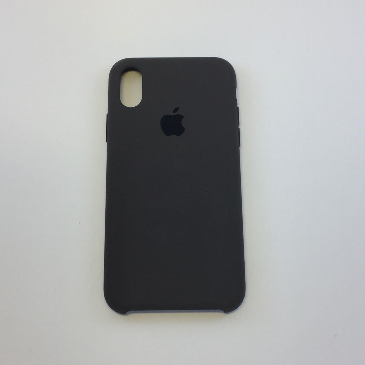 Силиконовый чехол для iPhone Xs Max, - «коричневый» - copy original
