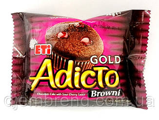 Кекс Adicto Gold вишня, 50 г