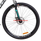 Горный велосипед Formula Dragonfly DD 29 дюймов черно-бирюзовый, фото 3