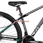 Горный велосипед Formula Dragonfly DD 29 дюймов черно-бирюзовый, фото 4