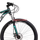Горный велосипед Formula Dragonfly DD 29 дюймов черно-бирюзовый, фото 2
