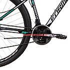 Горный велосипед Formula Dragonfly DD 29 дюймов черно-бирюзовый, фото 5