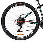 Горный велосипед Formula Dragonfly DD 29 дюймов черно-бирюзовый, фото 6