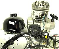 Мотор ОРИГИНАЛ для велосипеда в сборе с ручным стартером 80 сс