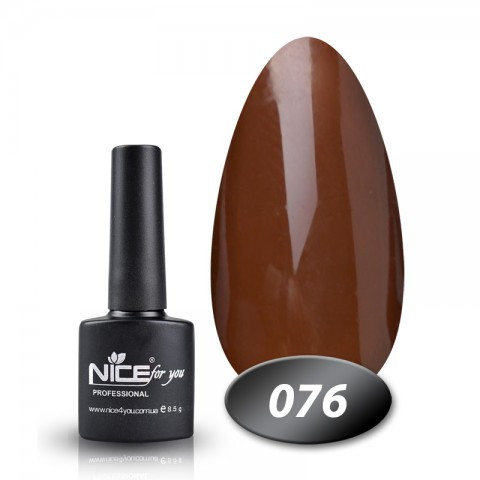 Гель лак Nice for you 8.5ml, №76