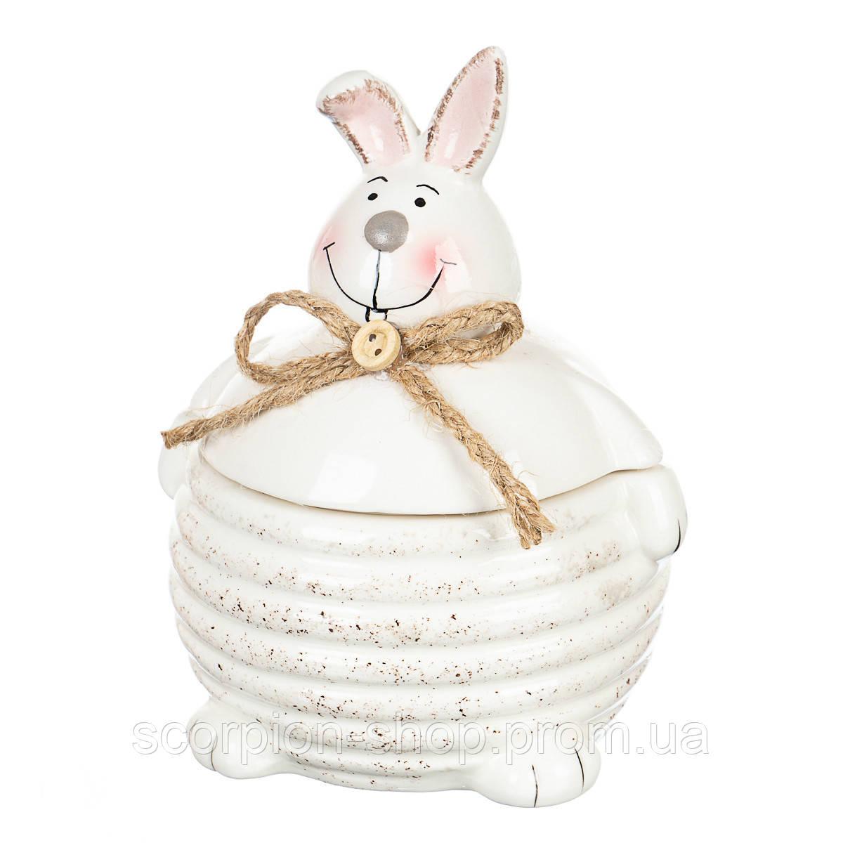 """Сахарница """"Кролик"""" (200 мл) керамика"""