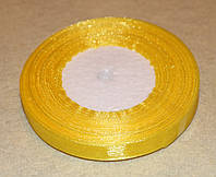 Стрічка органза 952 жовтий 1,2 см, фото 1