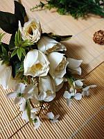 Букет из бутонов роз. Белые, фото 1