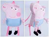 "Рюкзак-игрушка ""Свинка Джодж 1"" 00206-11, Украина"
